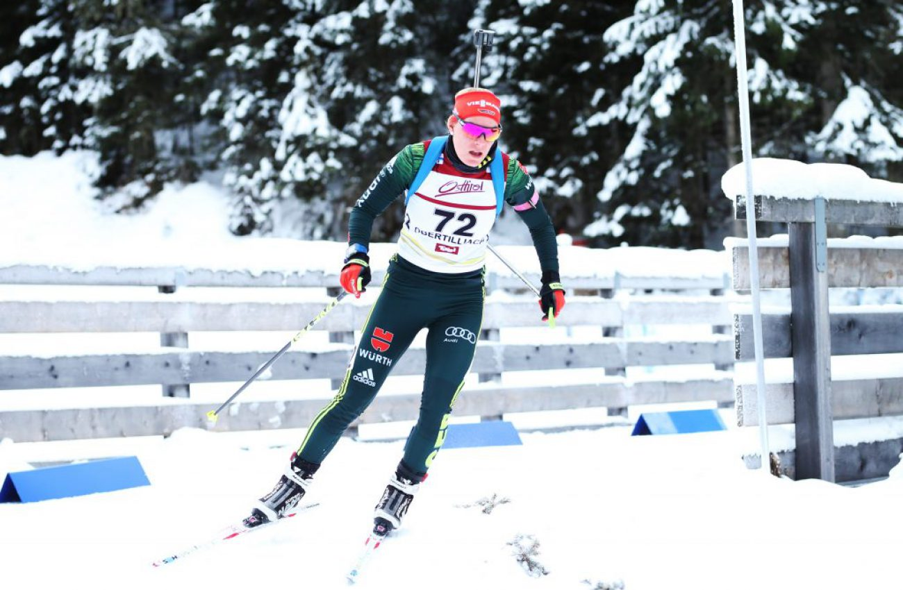 Wintersport, Biathlon IBU Junior Cup - Obertilliach, Sprint