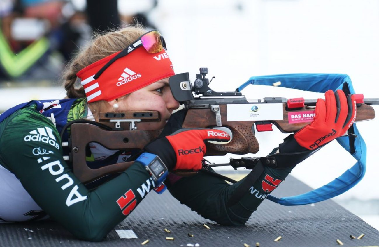 Wintersport, Biathlon IBU Junior Cup - Ridnaun, Einzel