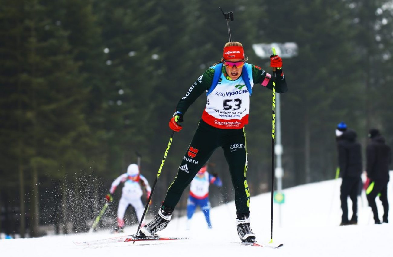 Wintersport, Biathlon IBU Junior Cup - Nove Mesto Na Morave, Sprint